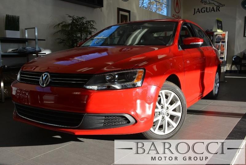 2013 Volkswagen Jetta SE PZEV 4dr Sedan 6A 6 Speed Auto Red Child Safety Door Locks Power Door