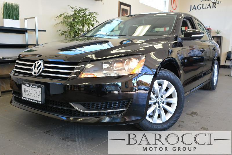 2012 Volkswagen Passat S PZEV 4dr Sedan 5M Automatic Black ABS Air Conditioning Alarm Alloy W