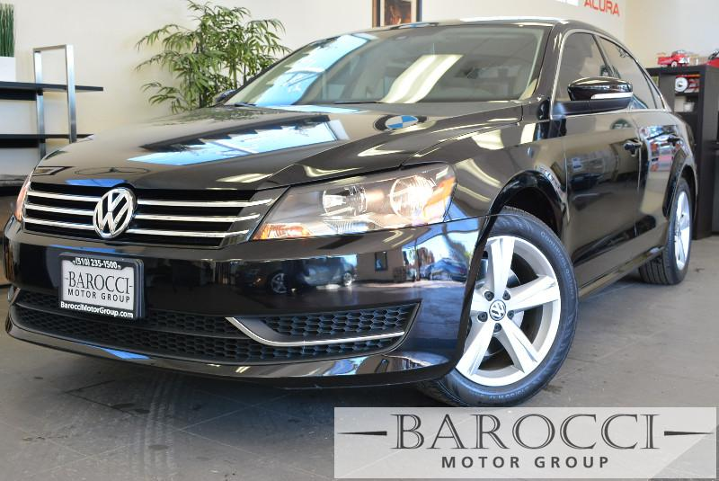2013 Volkswagen Passat SE PZEV 4dr Sedan 5M Automatic Black Air Conditioning Alarm Power Steer