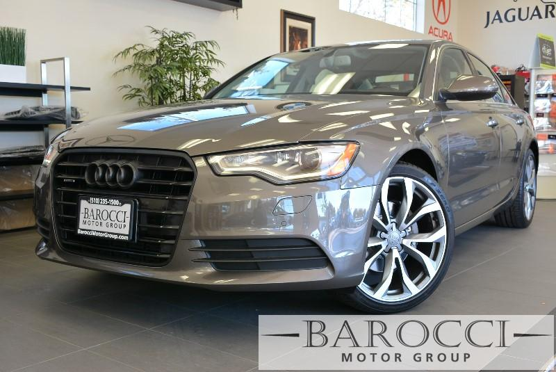 2013 Audi A6 20T quattro Premium AWD  4dr Sedan 8 Speed Auto Dk Brown Child Safety Door Locks