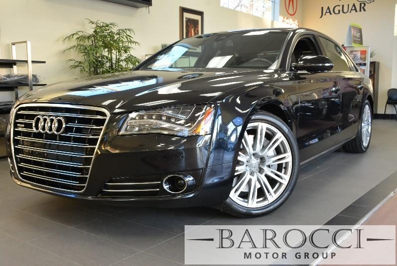 2012 Audi A8 L quattro AWD  4dr Sedan 8 Speed Auto Black Child Safety Door Locks Power Door Loc