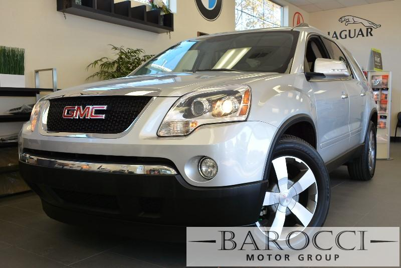 2011 GMC Acadia SLT-1 AWD  4dr SUV 6 Speed Auto Silver ABS Air Conditioning Alarm Alloy Wheel
