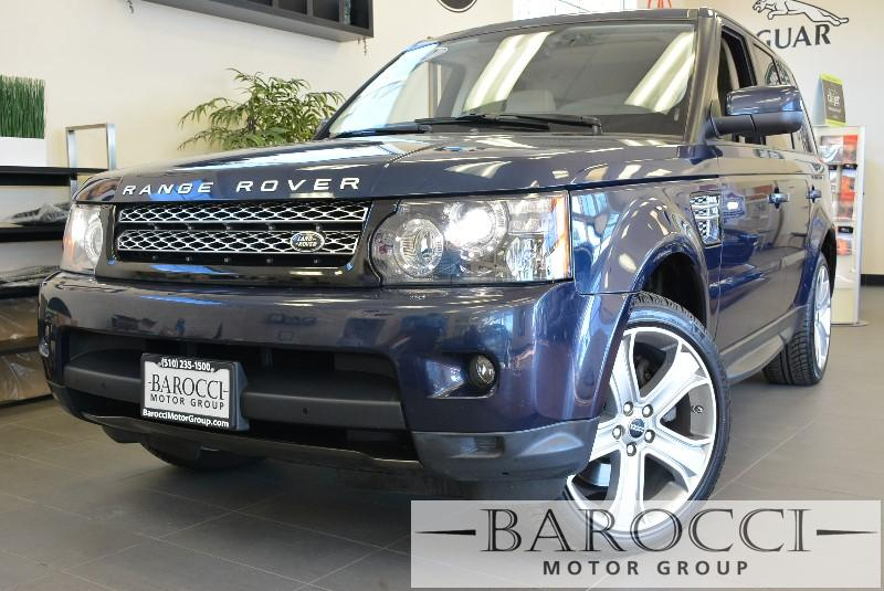 2012 Land Rover Range Rover Sport HSE LUX 4x4  Limited Edition 6 Speed Auto Blue Child Safety Do