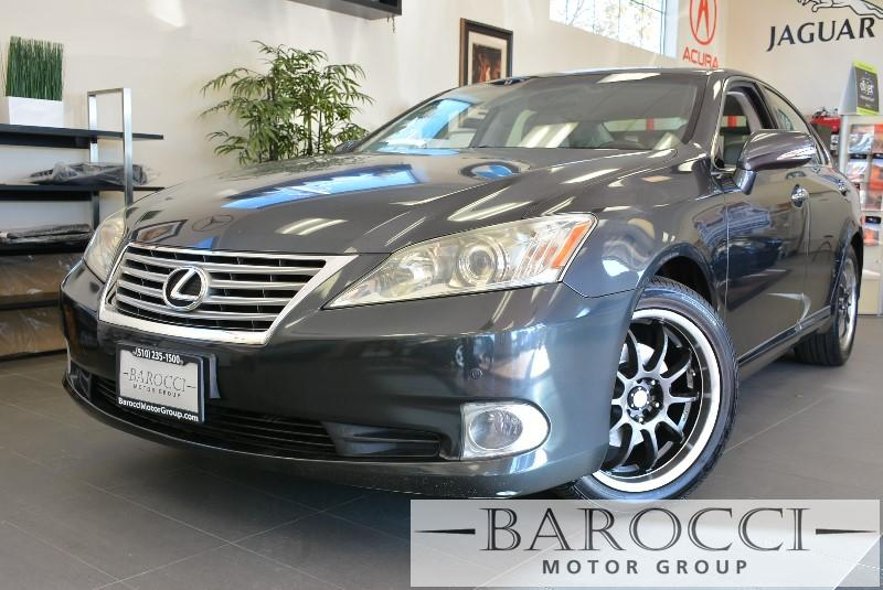 2010 Lexus ES 350 Base 4dr Sedan 6 Speed Auto Gray Child Safety Door Locks Power Door Locks Ve