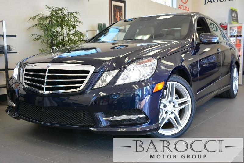 2013 MERCEDES E-Class E350 SportPanaramic Roof 7 Speed Auto Blue Traction Control Electronic S