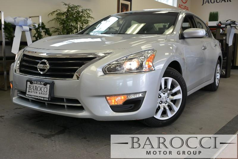 2014 Nissan Altima 25 S 4dr Sedan Continuously Variable Transmission  Silver Child Safety Door