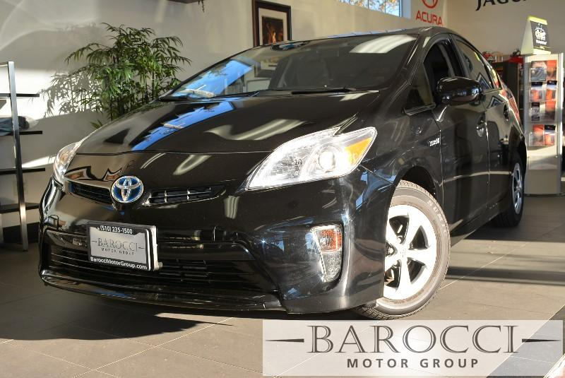2013 Toyota Prius Five 4dr Hatchback Automatic Black Air Conditioning Alarm Power Steering Po