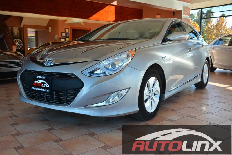 2013 Hyundai Sonata Hybrid Sedan 6-Speed Automatic Gray Beige Air Conditioning Power Steering