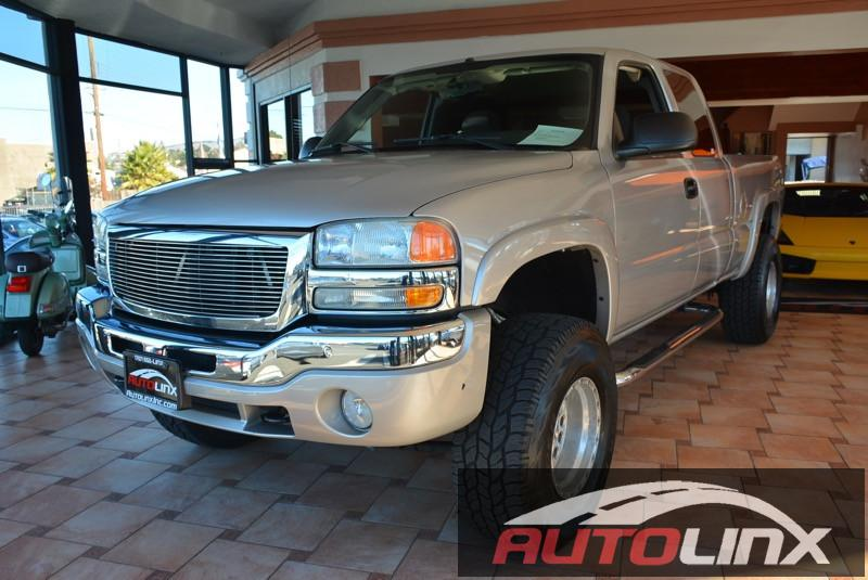 2004 GMC Sierra 1500 Extended Ext Cab 65-ft Bed 4WD Automatic Gray Gray ABS 4-Wheel Air Con