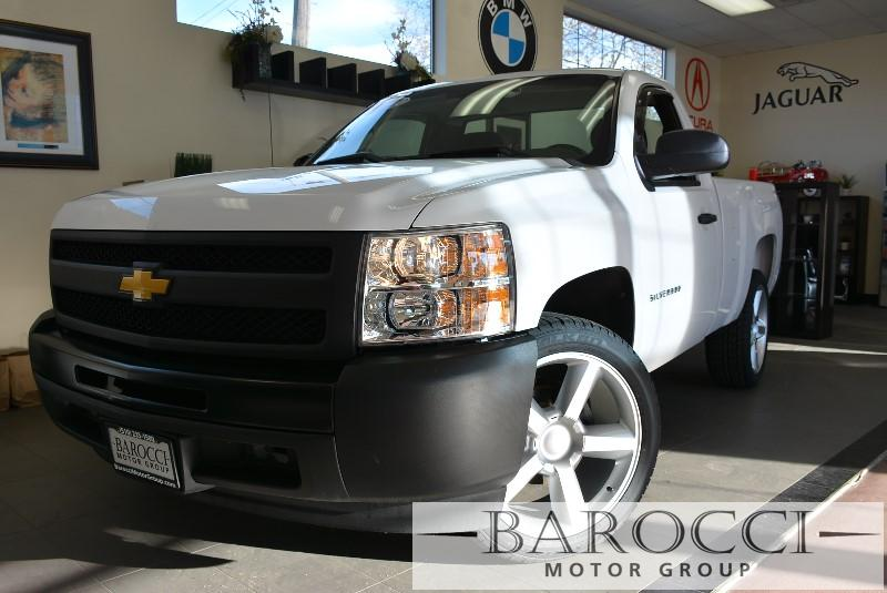 2012 Chevrolet Silverado 1500 Work Truck 4x2  2dr Regular Cab 65 4 Speed Auto White Rear Wheel