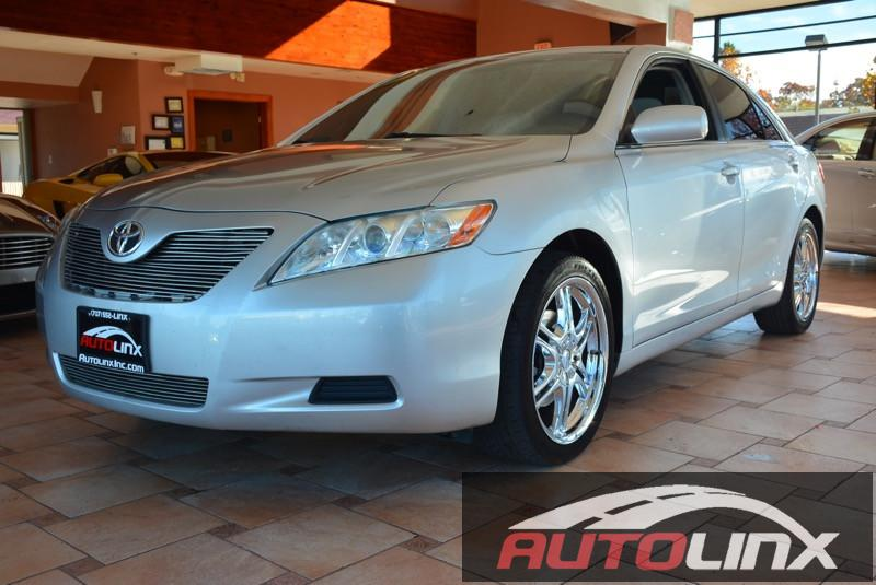 2007 Toyota Camry LE Automatic Silver Gray Air Conditioning Alarm Power Steering Power Windo