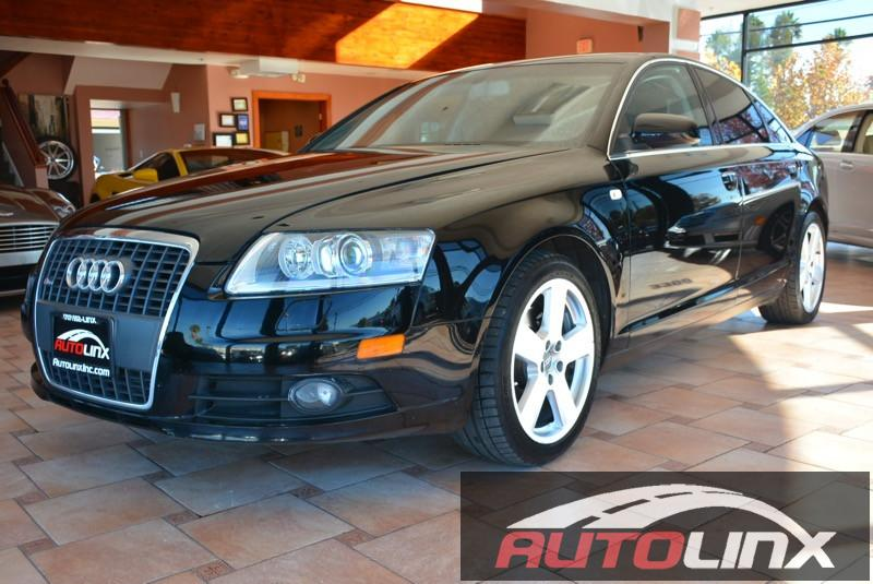 2006 Audi A6 S-Line 32 Quattro Auto 6-Spd OD Tiptronic Black Black ABS 4-Wheel Air Conditioni