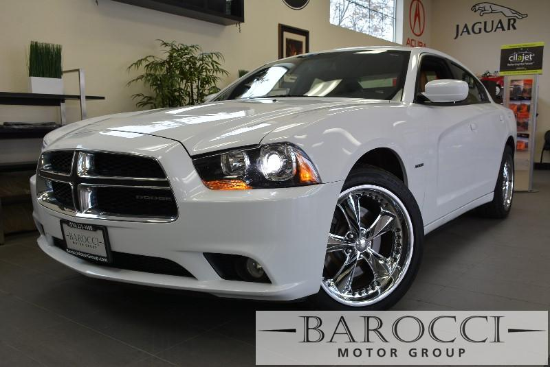 2011 Dodge Charger RT AWD 5-Speed Automatic White Tan Child Safety Door Locks Power Door Lock