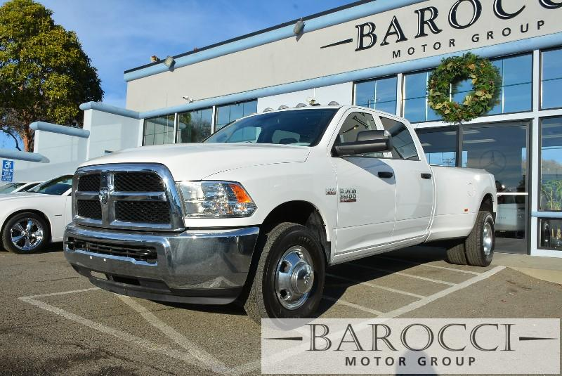 2014 Ram 3500 HEMI Tradesman 4x2  4dr Crew Cab 8 ft L 6 Speed Auto White ABS Air Conditioning