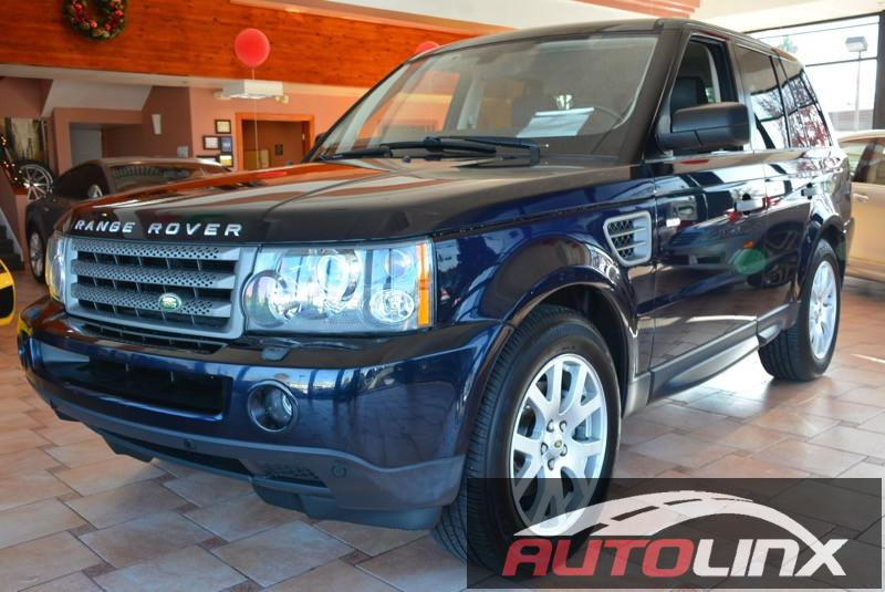 2009 Land Rover Range Rover Sport HSE 6-Speed Automatic Black Black Navigation Accident free C