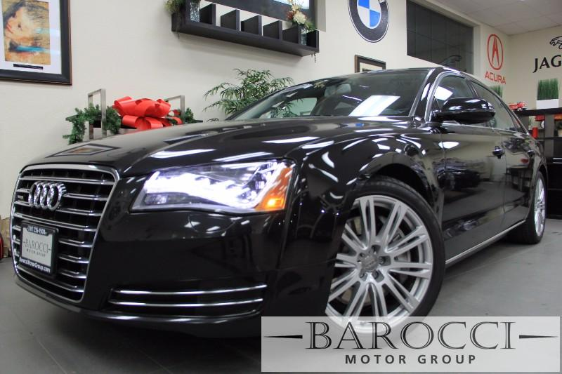 2012 Audi A8 L L Quattro AWD  4dr Sedan Automatic Black Black Amazing vehicle with all the opti