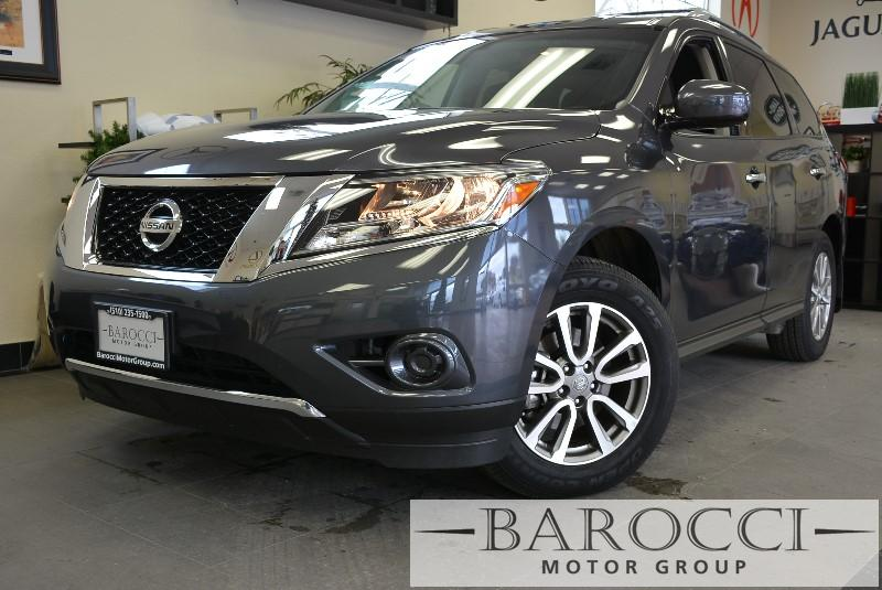 2014 Nissan Pathfinder S 4dr SUV Continuously Variable Transmission Gray Electronic Brake Assist