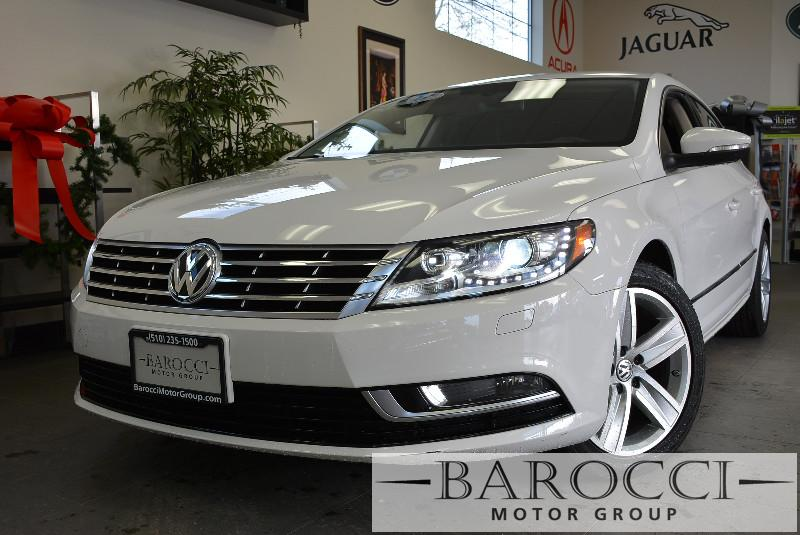 2013 Volkswagen CC Sport PZEV 4dr Sedan 6A 6 Speed Auto White ABS Air Conditioning Alarm Allo
