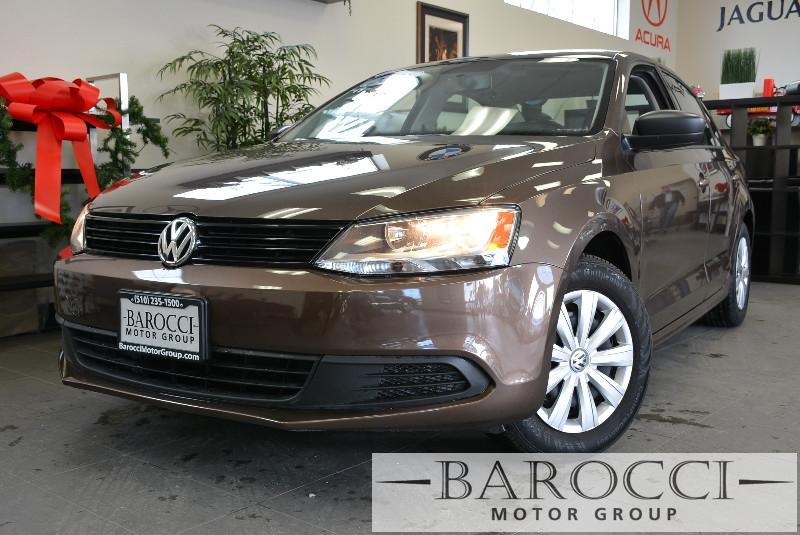 2014 Volkswagen Jetta Base 4dr Sedan 5M 5 Speed Man Dk Brown Child Safety Door Locks Power Do