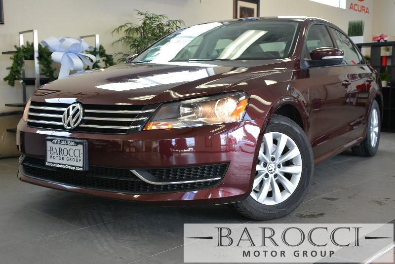 2013 Volkswagen Passat S PZEV 4dr Sedan Automatic Maroon ABS Air Conditioning Alarm Alloy Whe