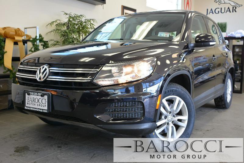 2013 Volkswagen Tiguan S 4dr SUV 6 Speed Auto Black Child Safety Door Locks Power Door Locks V