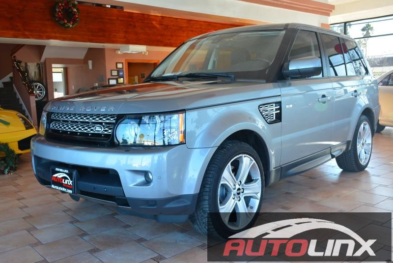 2012 Land Rover Range Rover Sport HSE 6-Speed Automatic Gray Black Accident free Carfax History