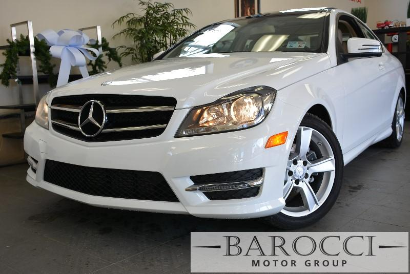 2014 MERCEDES C-Class C250 2dr Coupe 7 Speed Auto White Power Door Locks Vehicle Anti-Theft AB