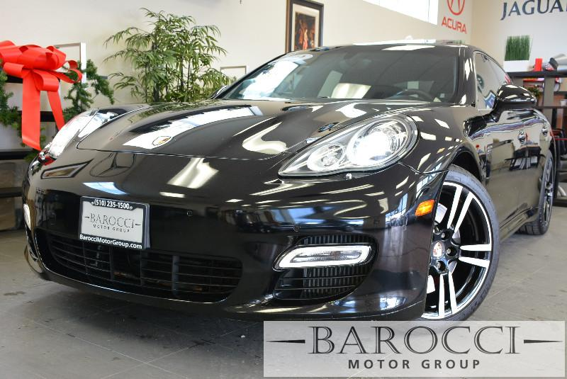 2012 Porsche Panamera Turbo 4dr Sedan 7 Speed Auto Black Power Door Locks Vehicle Anti-Theft 4