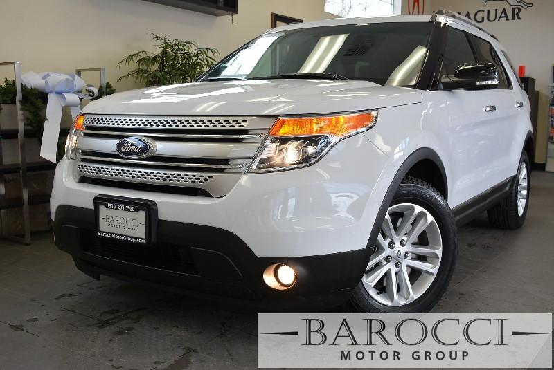 2014 Ford Explorer XLT 4dr SUV 6 Speed Auto White ABS Air Conditioning Alarm Alloy Wheels Cr