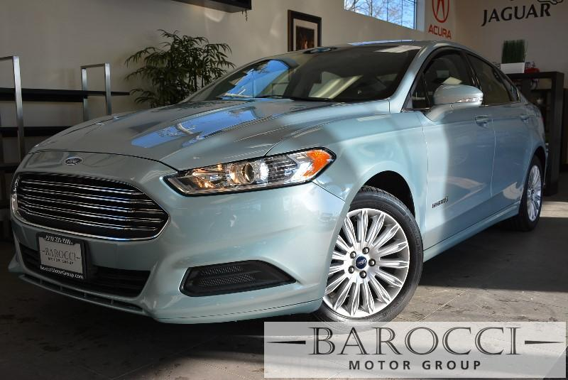2014 Ford Fusion Hybrid SE 4dr Sedan Automatic Lt Blue Air Conditioning Alarm Power Steering