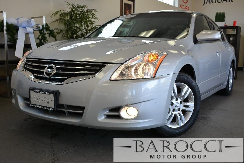 2012 Nissan Altima 25 4dr Sedan Automatic CVT Silver ABS 4-Wheel Air Conditioning AM FM Stere