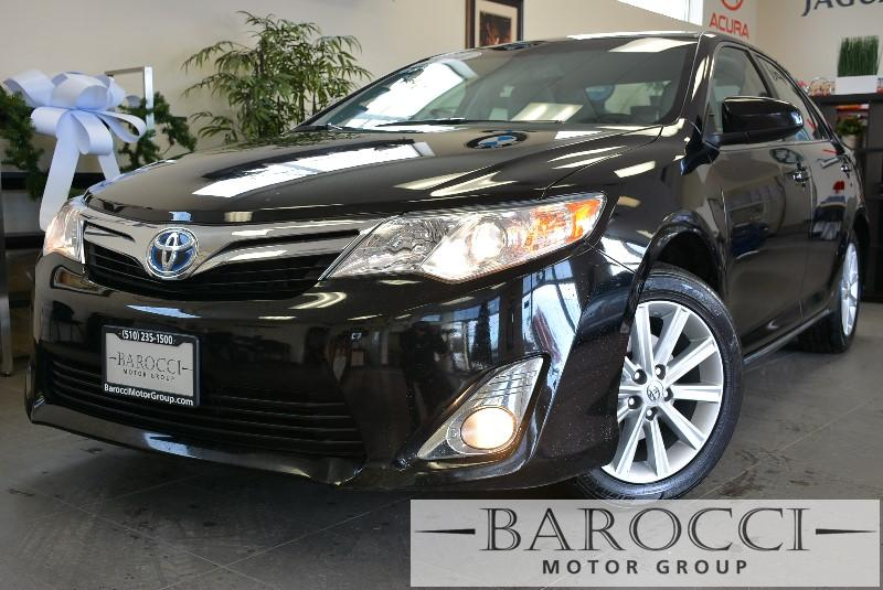2014 Toyota Camry Hybrid XLE 4dr Sedan Automatic cvt Black Air Conditioning Alarm Alloy Wheel