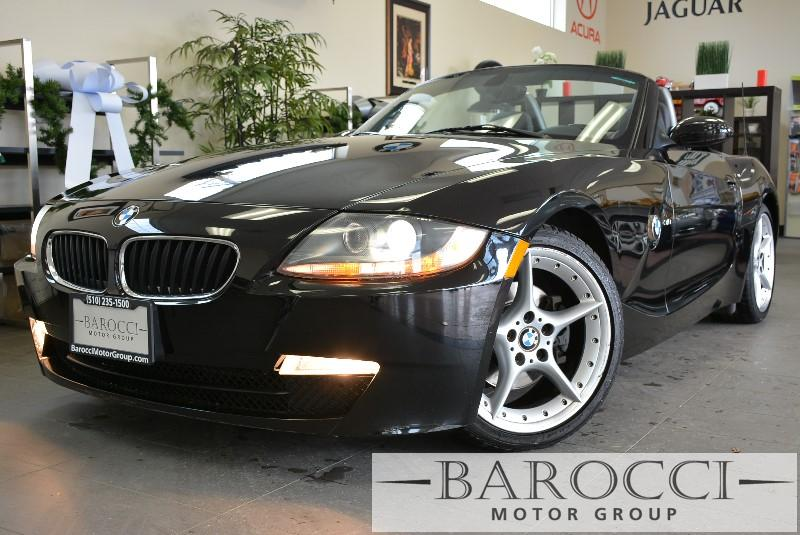 2006 BMW Z4 Roadster 30i 6-Speed Automatic  Black Black This is a beautiful vehicle in great c
