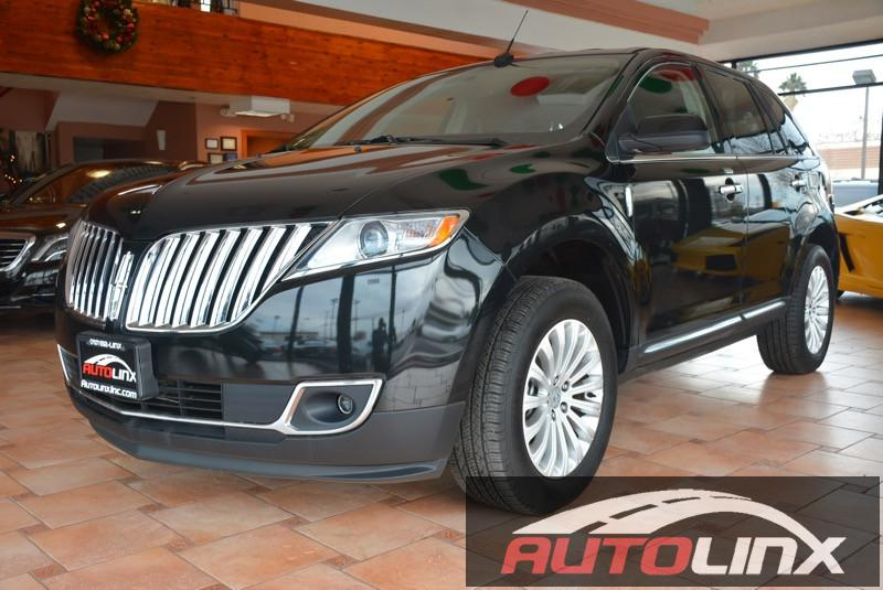 2015 Lincoln MKX FWD 6-Speed Automatic Black Black Leather Seats One Owner Completely inspect