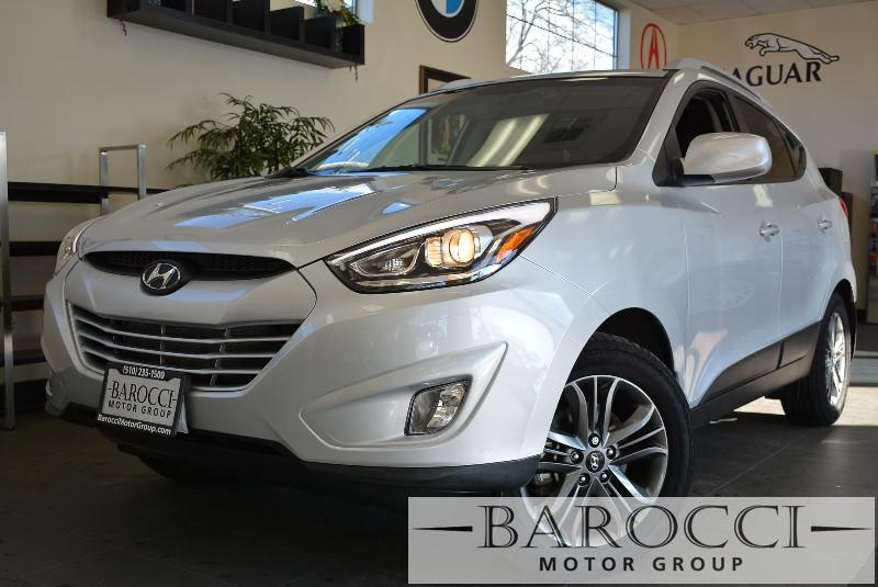 2014 Hyundai Tucson Limited AWD  4dr SUV 6 Speed Auto Silver ABS Air Conditioning Alarm Alloy