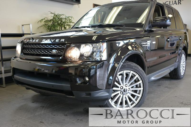 2012 Land Rover Range Rover Sport HSE-Lux- 4x4  4dr SUV 6 Speed Auto Black Navigation Rear View