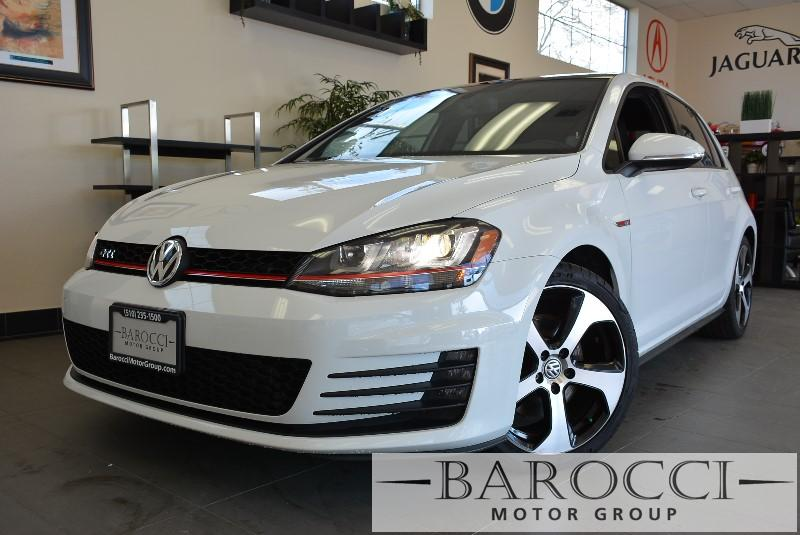 2015 Volkswagen Golf GTI S 4dr Hatchback 6A 6 Speed Auto White Black This is a beautiful vehicl