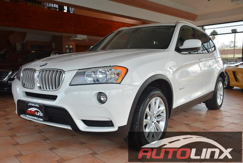 2013 BMW X3 xDrive28i 8-Speed Automatic White Black Navigation Completely inspected and recond
