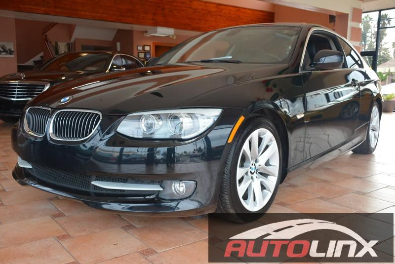 2013 BMW 3 Series 328i 2dr Coupe SPORT PKG Automatic Black Black Bluetooth Hands-Free Acciden