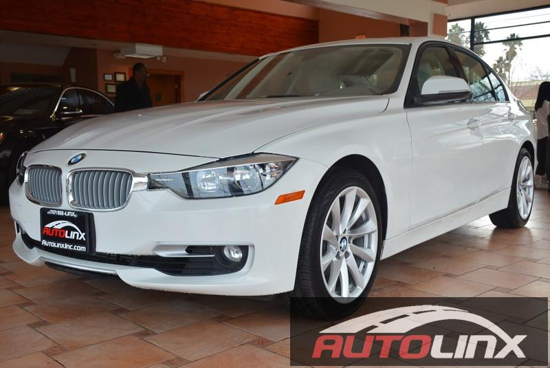 2012 BMW 3 Series 328i M PKG Automatic White Beige One Owner Completely inspected and recondit