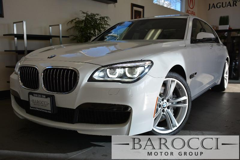 2013 BMW 7 Series 750Li M Sport Pkg 8 Speed Auto White Child Safety Door Locks Power Door Locks
