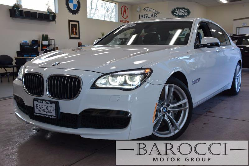 2013 BMW 750LI Series M Sport 750Li M Sport Pkg 8 Speed Auto White Black Now offering a super n
