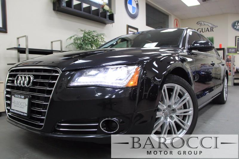 2012 Audi A8 L quattro AWD  4dr Sedan Automatic Black Black Amazing vehicle with every single o