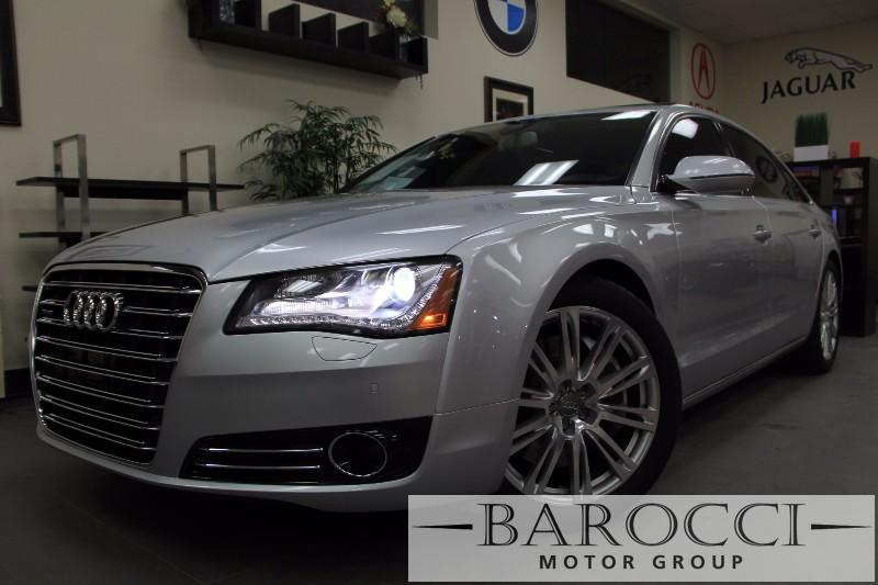 2012 Audi A8 L quattro AWD 4dr Sedan Automatic Silver Black Amazing vehicle with all the option