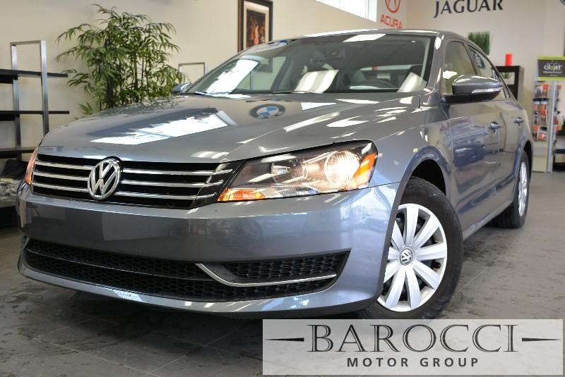 2012 Volkswagen Passat S 4dr Sedan 5M 5 Speed Man Gray Child Safety Door Locks Locking Pickup