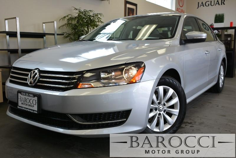 2012 Volkswagen Passat S PZEV 4dr Sedan Automatic Silver ABS Air Conditioning Alarm Alloy Whe