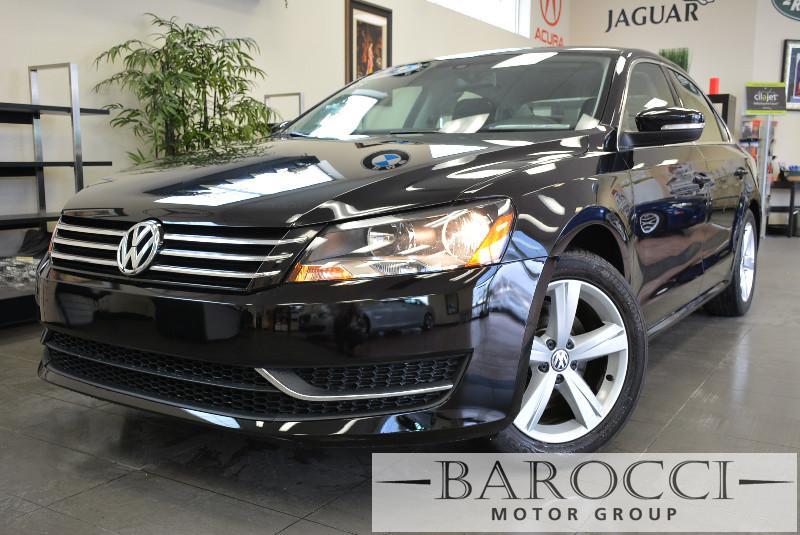 2013 Volkswagen Passat SE PZEV 4dr Sedan Automatic Black Air Conditioning Alarm Power Steering