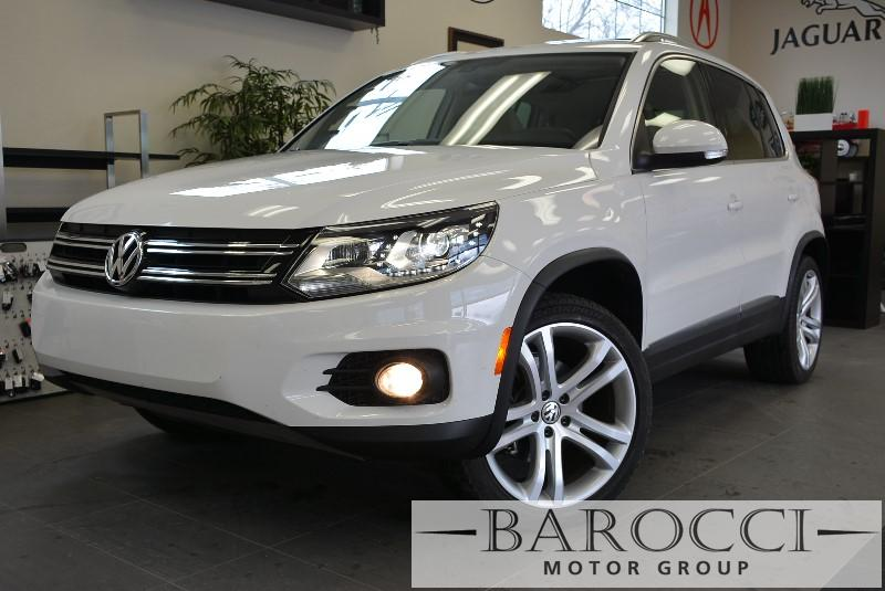 2013 Volkswagen Tiguan SEL 4dr SUV 6A 6 Speed Auto White ABS Air Conditioning Alarm Alloy Wh