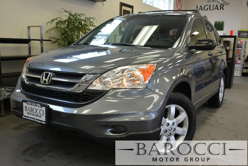 2011 Honda CR-V SE 4WD Special Edition 5-Speed Automatic Gray Charcoal Nice SUV that gets an es