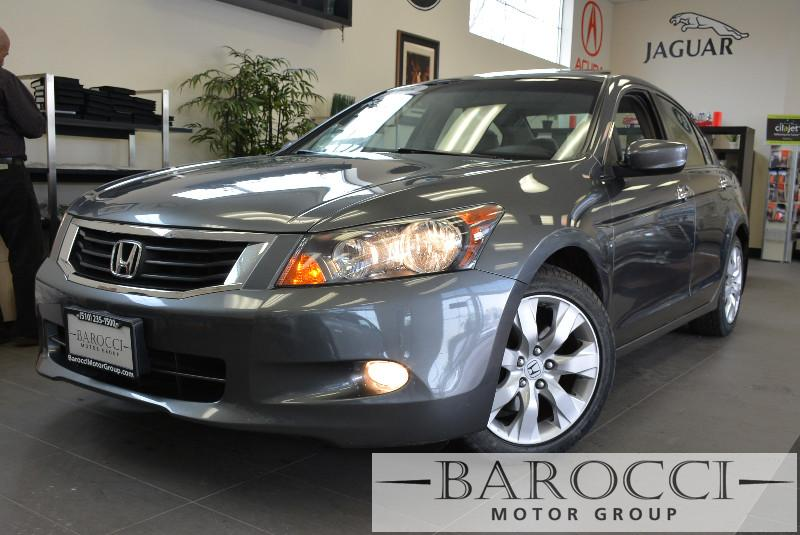 2008 Honda Accord EX-L V6 wNavi Sedan 5 Speed Auto Gray Child Safety Door Locks Power Door Loc
